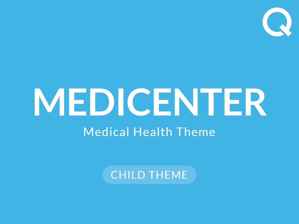Medicenter Child WordPress website template