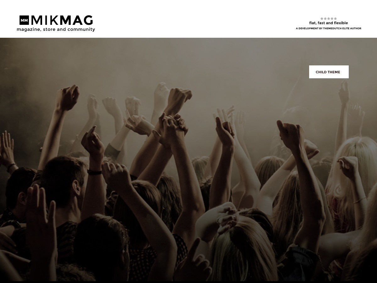 Mikmag WordPress ecommerce template