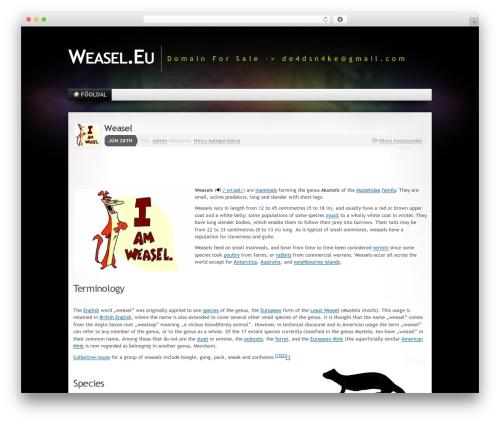 Mystique 2 WP template - weasel.eu