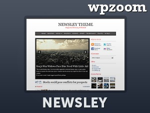 Newsley newspaper WordPress theme
