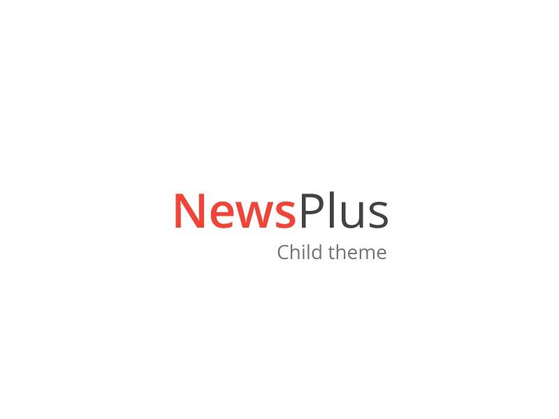 NewsPlus Child newspaper WordPress theme