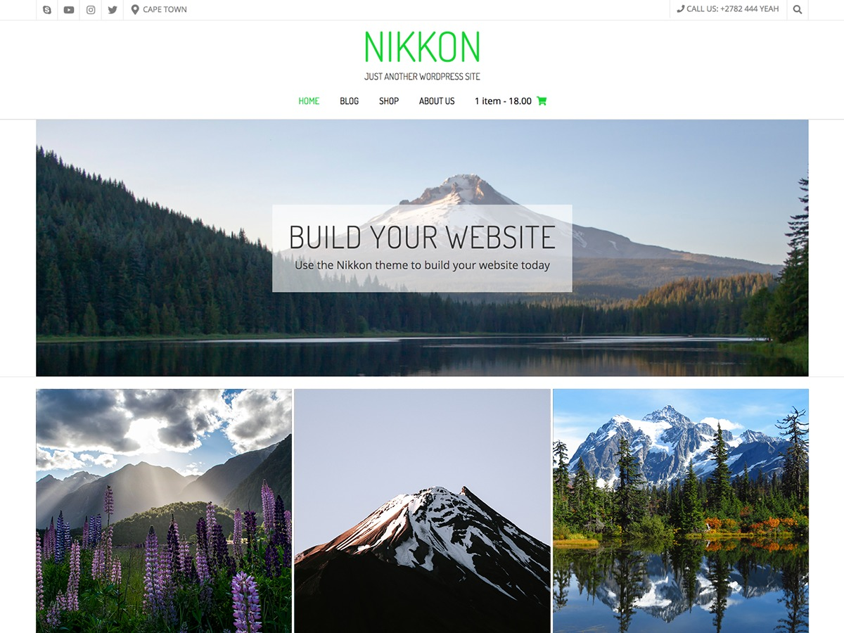 Nikkon best WooCommerce theme
