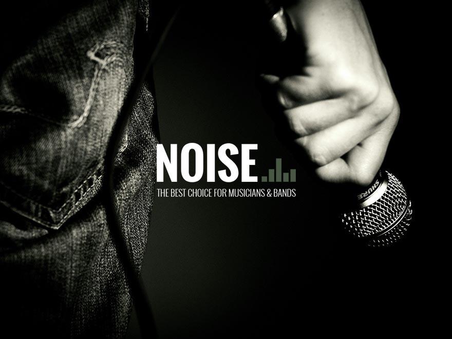 NOISE WordPress theme