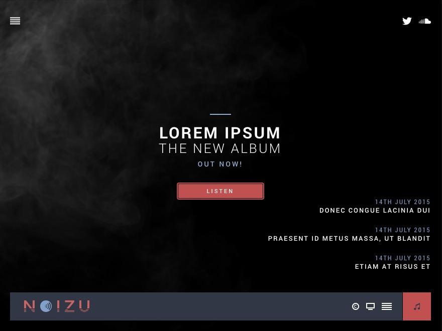 Noizu WordPress theme