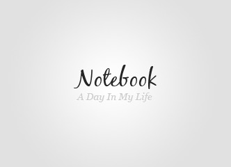 Notebook company WordPress theme