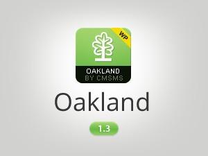 Oakland WordPress video template