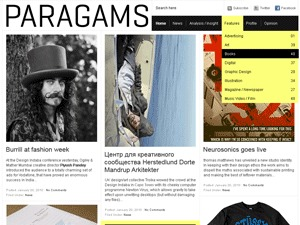 Paragrams best WordPress template