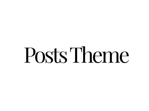 Posts Theme theme WordPress