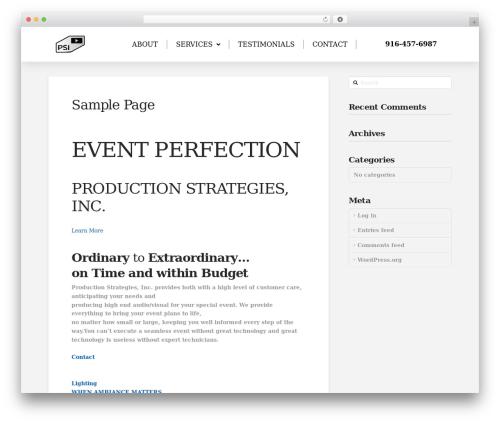 Pro WordPress theme - webdevtester.com