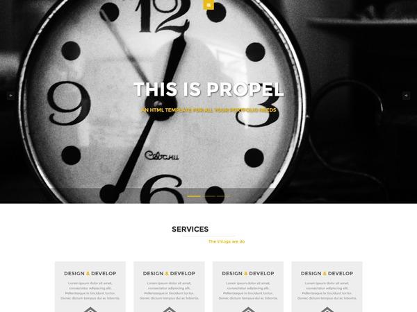 PROPEL WordPress WordPress blog template