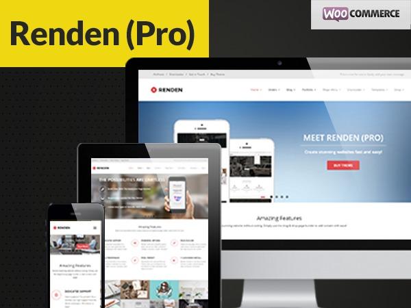 Renden Pro company WordPress theme