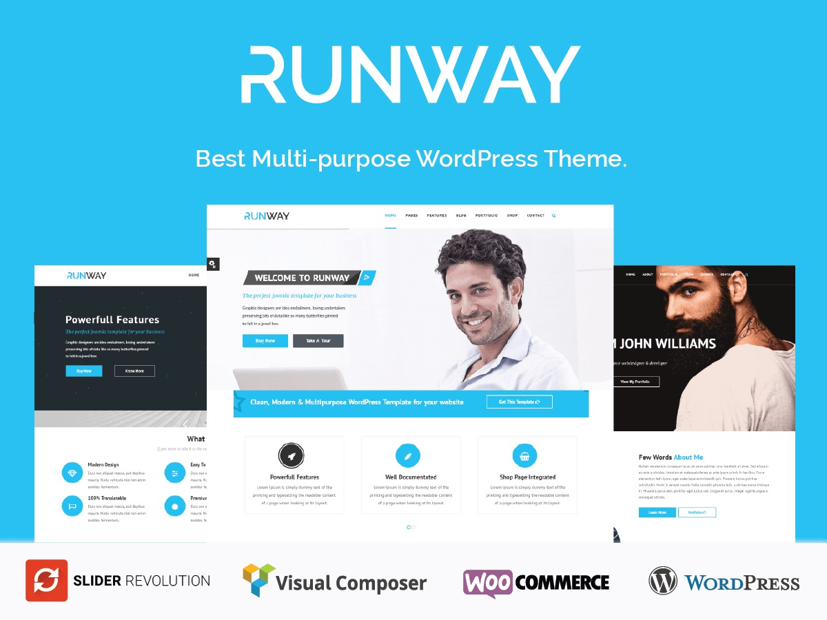Runway WordPress theme