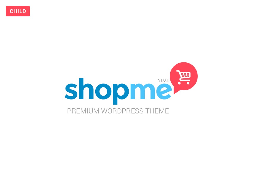 Shopme Child Theme best WooCommerce theme