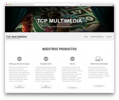 SKT White WordPress gaming theme - wordpress.luisrecagno.com