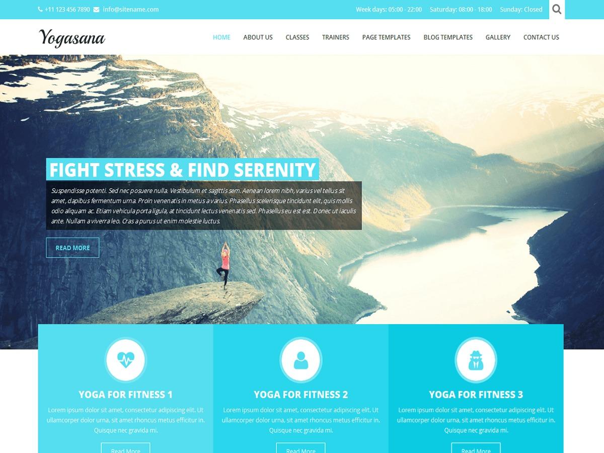 SKT Yogi Lite free website theme