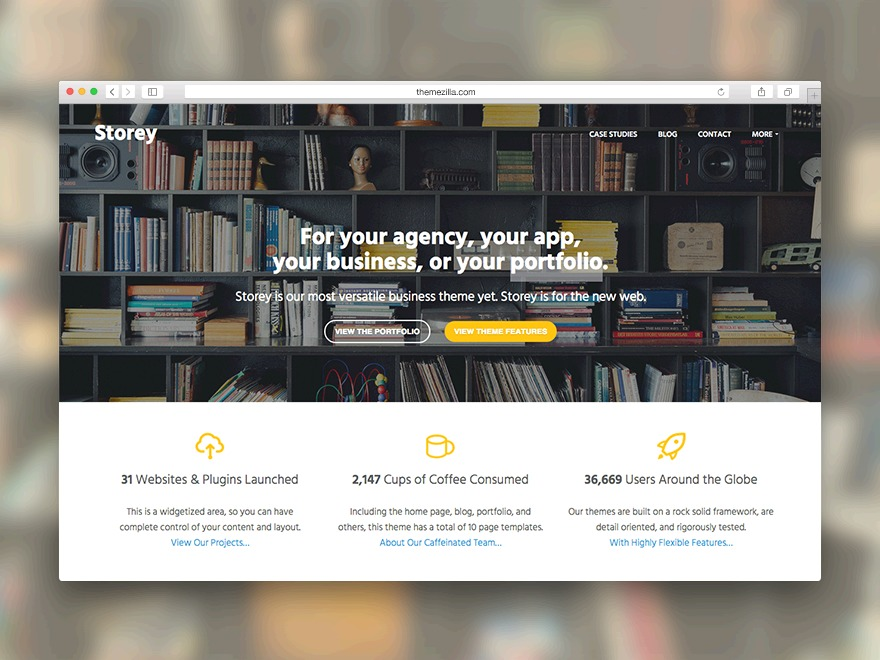 Storey WordPress ecommerce template