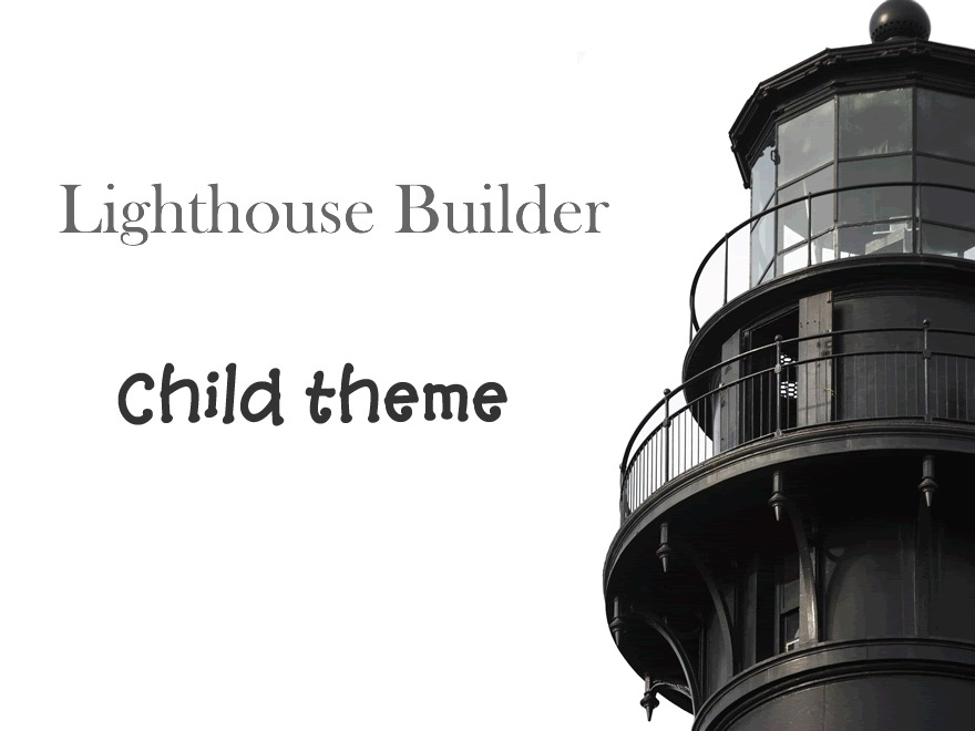 Superior Lighthouse Theme WordPress theme design