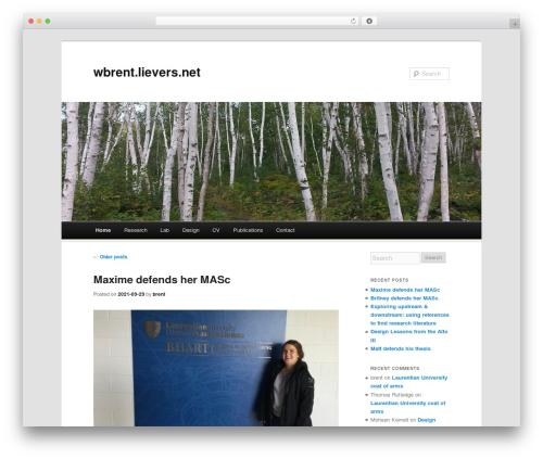 Free WordPress WordPress Colorbox Lightbox plugin - wbrent.lievers.net