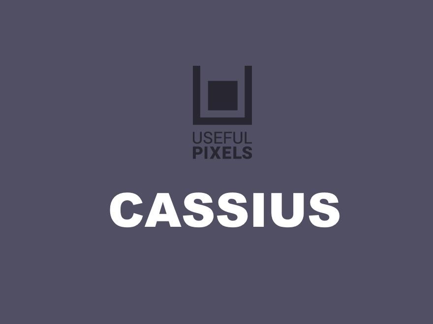 Theme WordPress Cassius