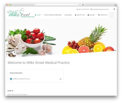 Theme WordPress Health&Medical - wilkstreetmedical.com.au