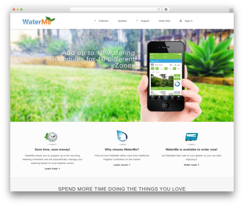 Free WordPress TablePress plugin - waterme.com.au