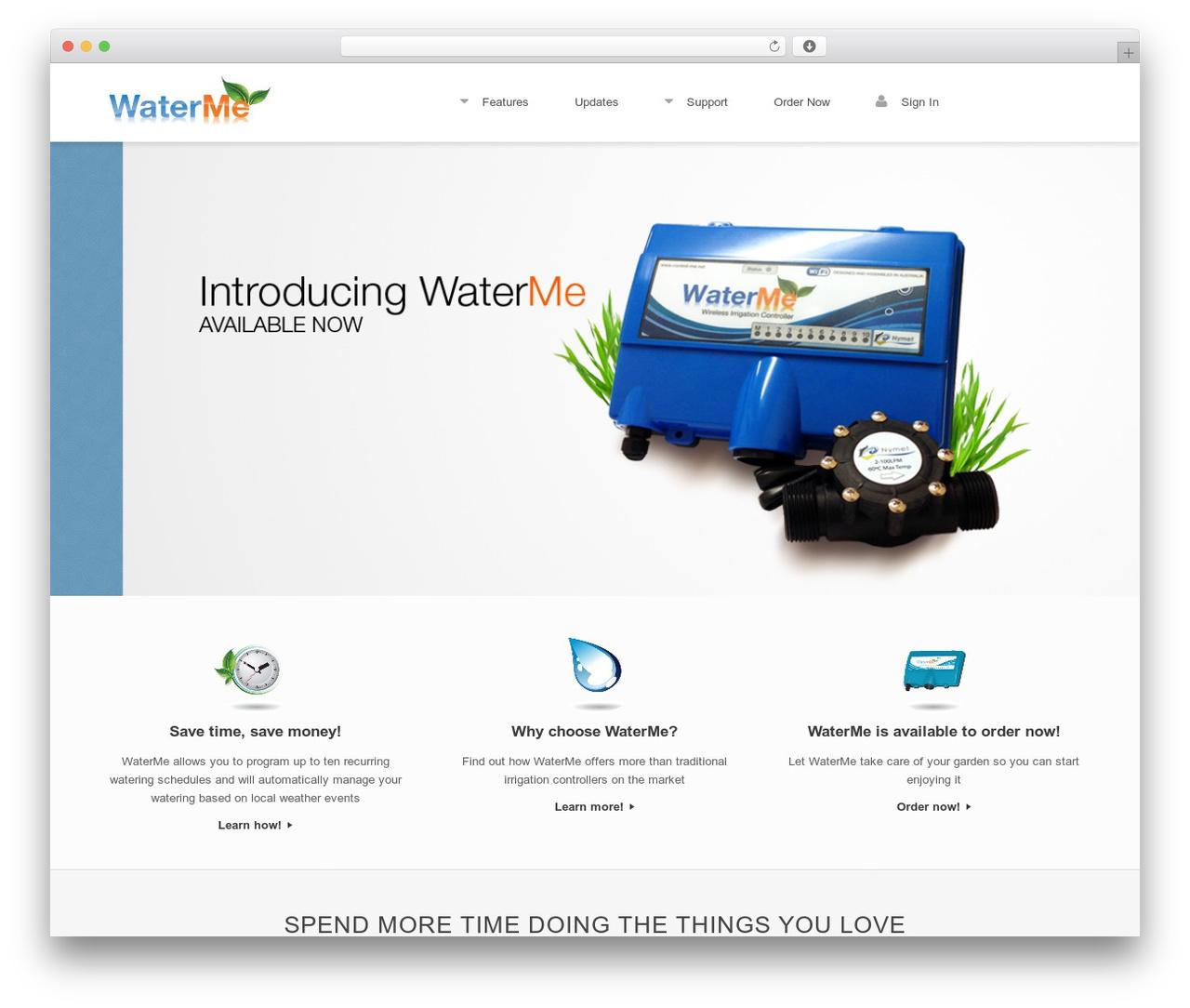 Theme WordPress Vantage Premium - waterme.com.au