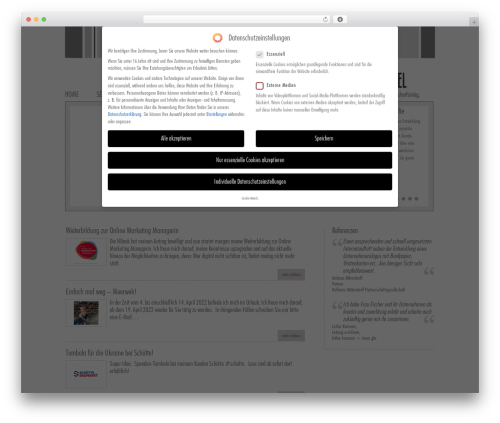 Theme WordPress Vulcan - werbe-trommel.de