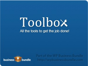 Toolbox Theme WordPress template for business