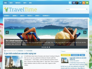 TravelTime WordPress travel theme