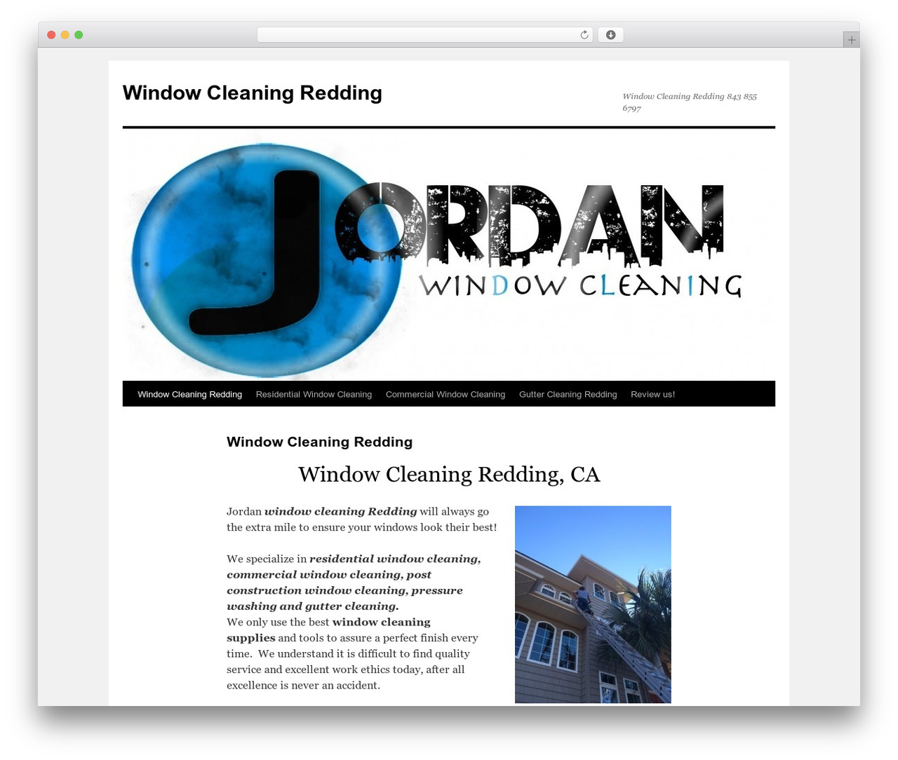 Twenty Ten free WP theme - windowcleaningredding.com