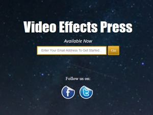 Video Effects Press WordPress movie theme