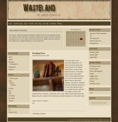 Wasteland top WordPress theme
