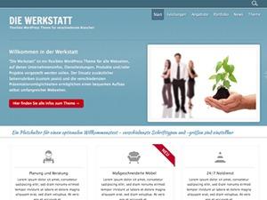 Werkstatt newspaper WordPress theme