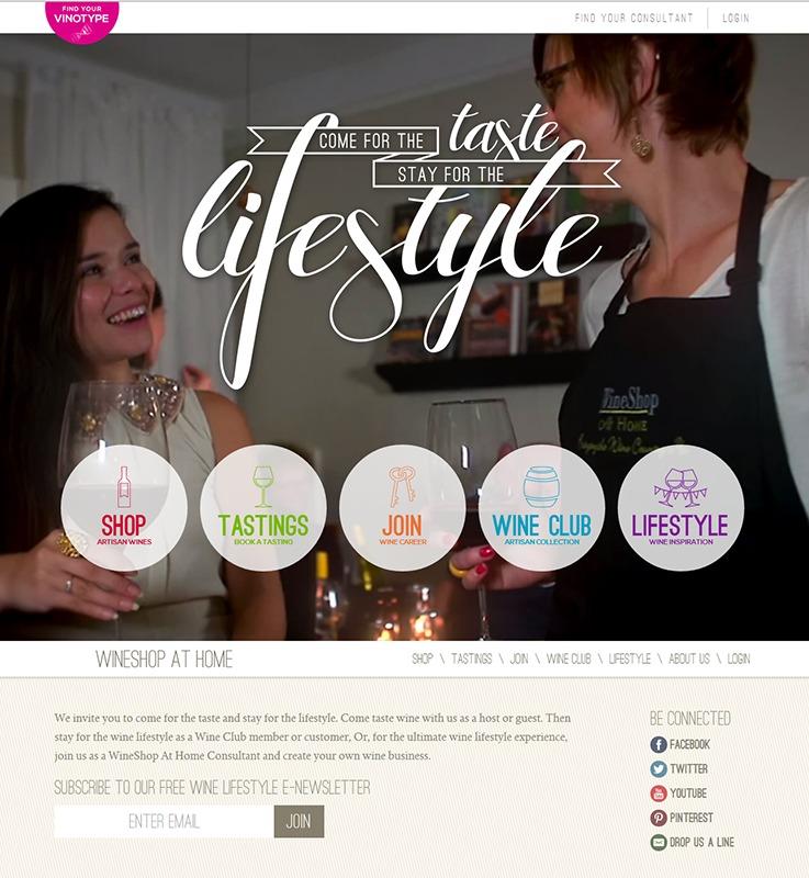 Wine Shop at Home v2 WordPress ecommerce theme