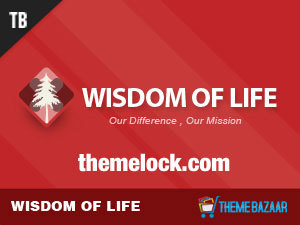 Wisdom of Life WordPress theme image