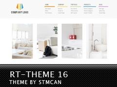 WordPress template RT-Theme 16