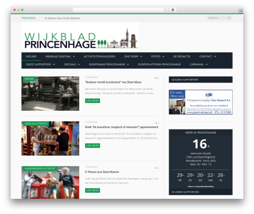 WordPress theme SmartMag - wijkbladprincenhage.net