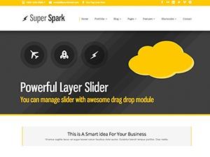 WordPress theme Superspark