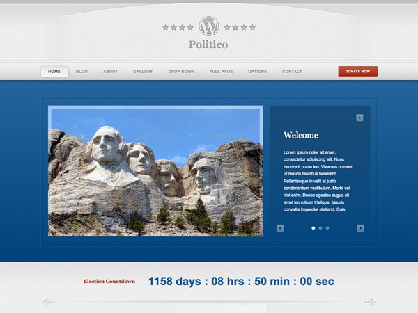WordPress theme WordPress Politico