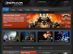 WP template Zephyr