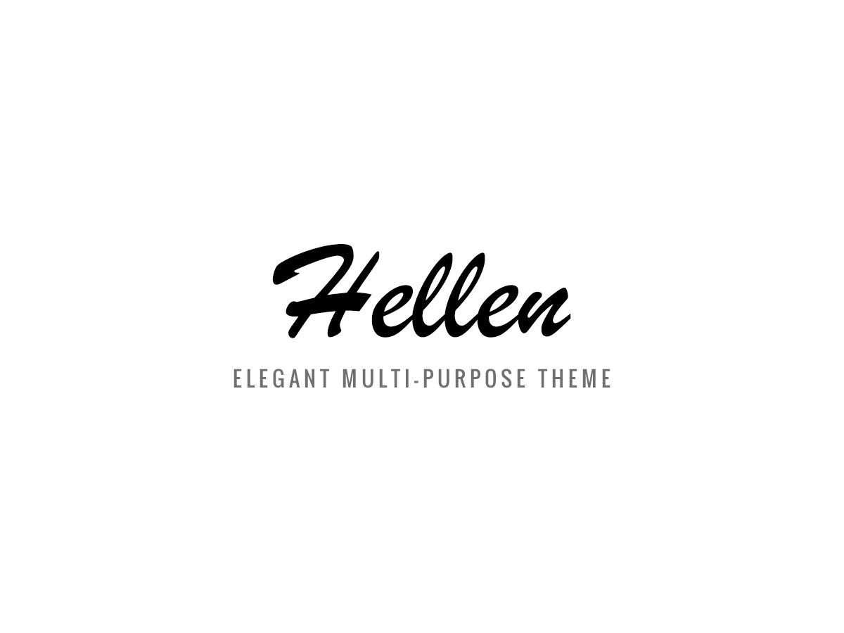 WP theme Hellen