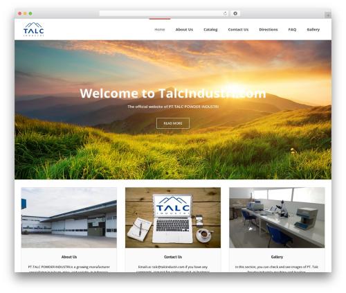 Free WordPress WP Header image slider and carousel plugin - talcindustri.com