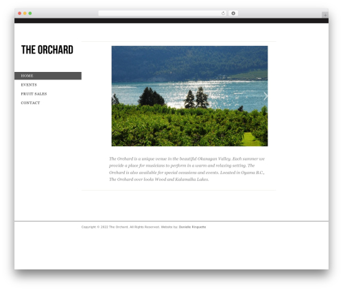 Free WordPress Multicons [ Multiple Favicons ] plugin - theorchardwebsite.com