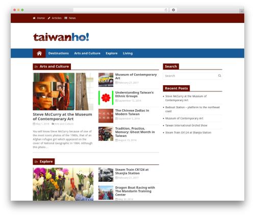 Free WordPress Tabs plugin - taiwanho.com