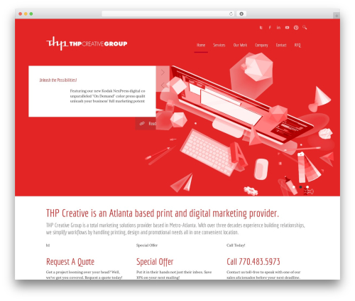 Duotive 5ive WordPress theme - thpcreative.com