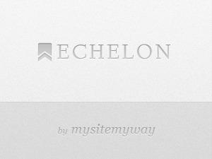 Echelon WordPress website template