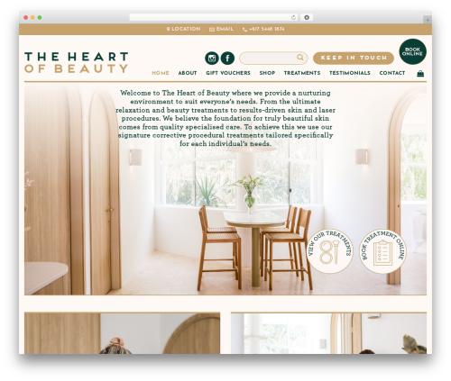 Flatsome WordPress theme - theheartofbeauty.com.au