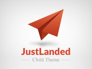 JustLanded Child premium WordPress theme