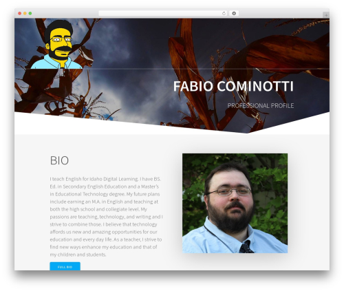 One Page Express theme free download - fabiocominotti.com
