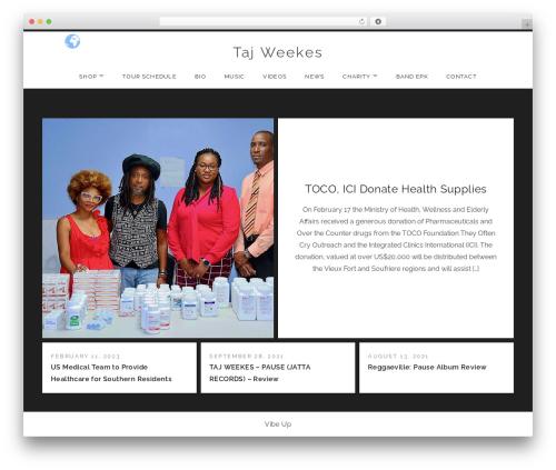 Free WordPress Breadcrumb plugin - tajweekes.com